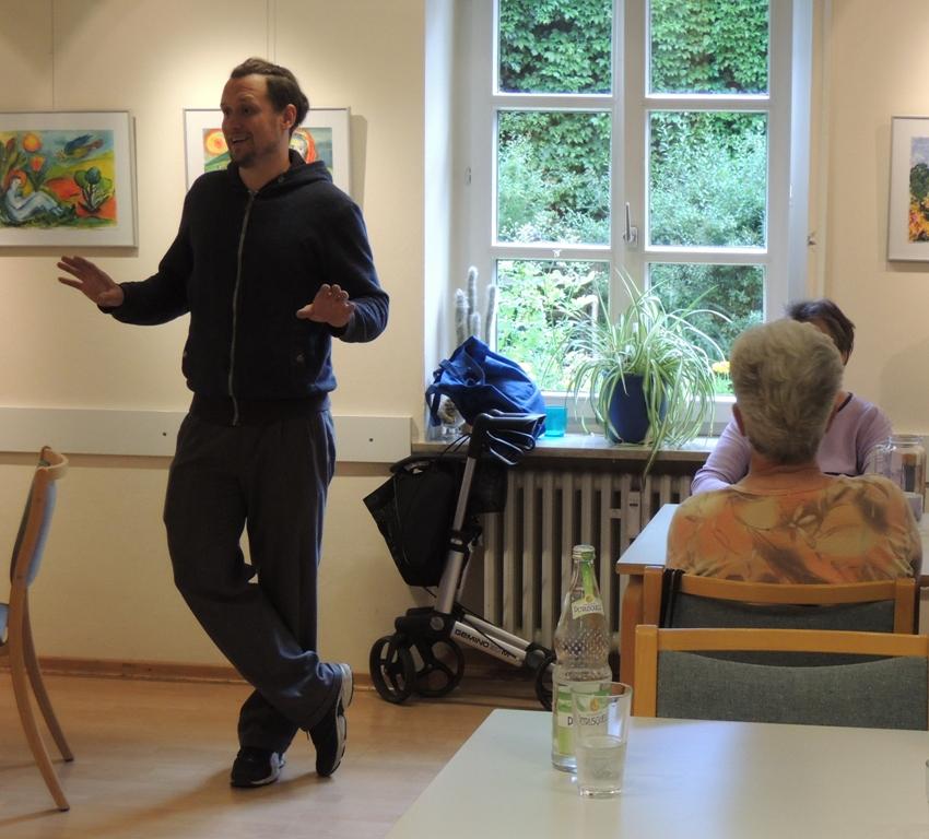 Besuch im Alten-Service-Zentrum Pasing