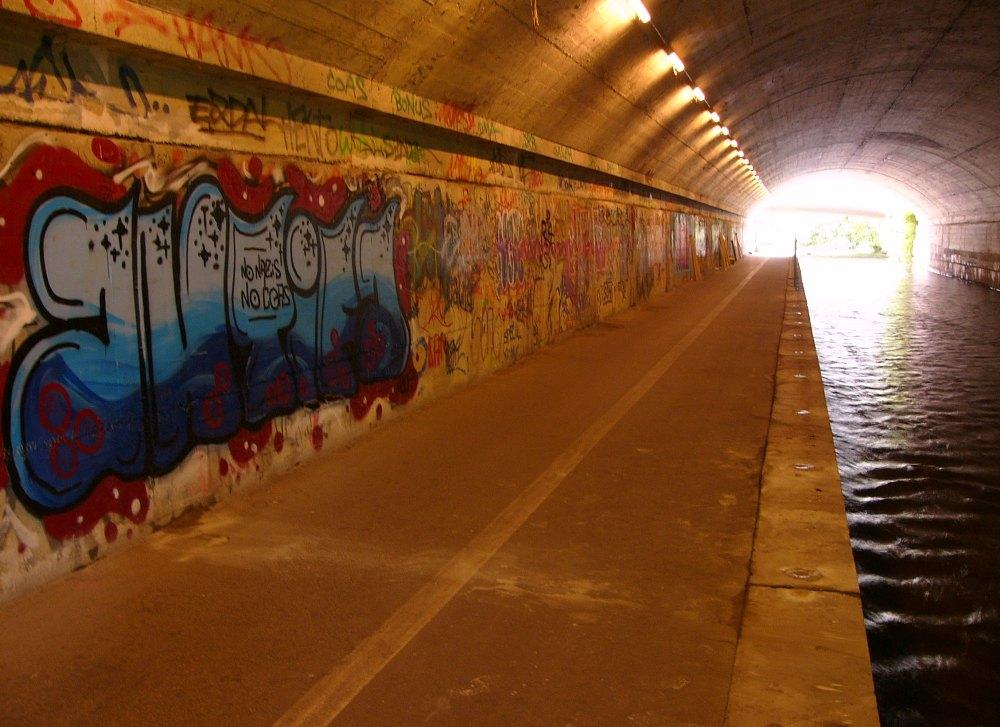 Tunnel vor Beginn