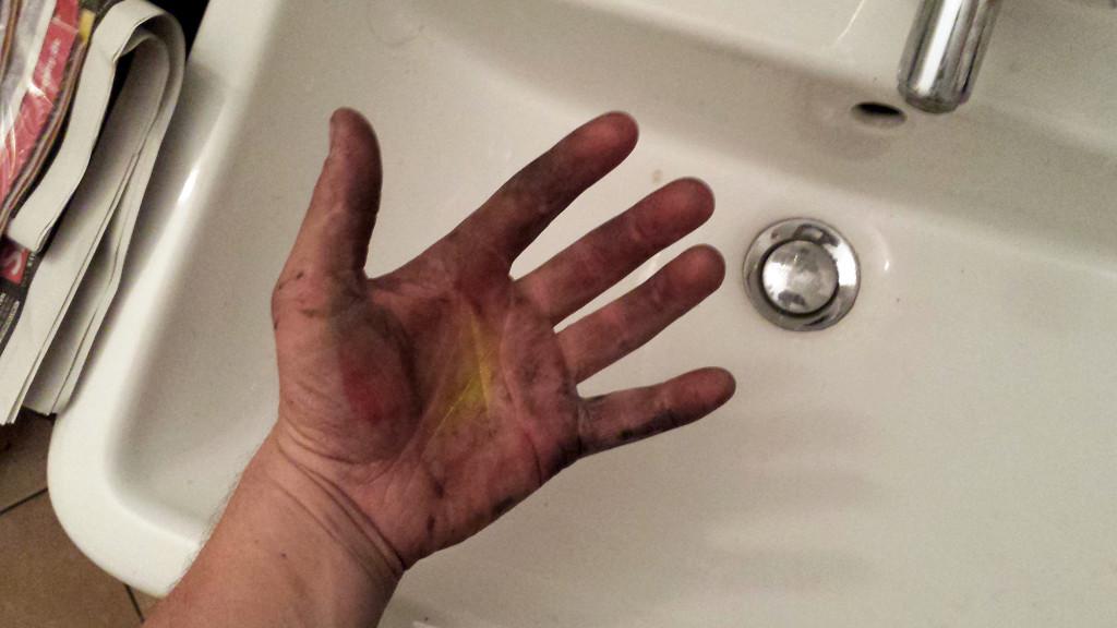 dirtyhand