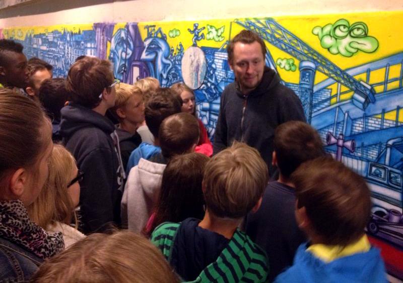 Besuch Realschule Blutenburg